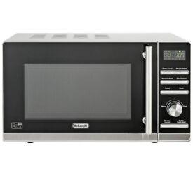 De'Longhi Standard Microwave P80ZVA - Stainless Steel