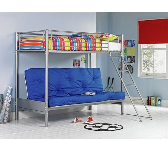 Argos Futon Bunk Bed Kids Children Sofa Double Pull Out Foldable