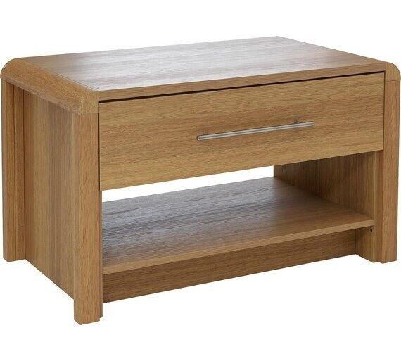 Ex Display Argos Home Elford 1 Drawer Coffee Table Oak Effect In Bradford West Yorkshire Gumtree