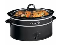 Crock-pot 6.5L Slow Cooker Black £20