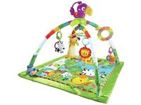 Fisher price rainforest baby playmat