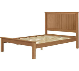 Ex display Grafton Small Double Bed Frame - Oak