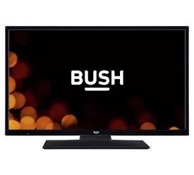 BUSH 32 inch HD ready TV + HDMI cable + HDMI to Thunderbolt