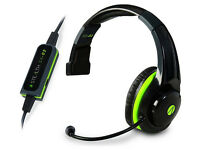 Stealth SX02 Gamers Mono Chat Headset Xbox One Xbox 360