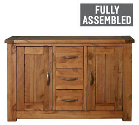 Collection Harvard 2 Door 3 Drawer Solid Pine Sideboard