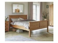 Ex display Excellent wooden King size bed frame. 1/2 shop price. Delivery available.