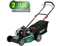 Qualcast petrol lawnmower