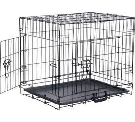 Metal Dog Crate.