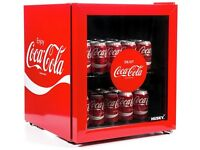 Coke drinks fridge