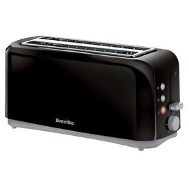 brand new/unused Breville Black 4 Slice Toaster for sale from a smoke and pet free house