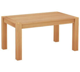 Home of Style Whipsnade Oak Veneer 6 Seater Dining Table