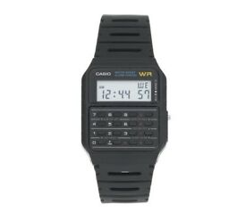 Casio Black Strap Calculator Watch