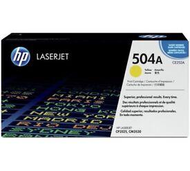 New HP Laserjet Toner Cartridge CE252A (CM3530/CP3525)