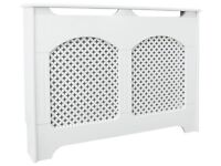 Collection Winterfold Medium Radiator Cover - White