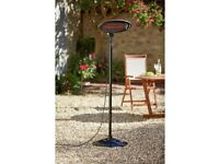 Patio heaters for garden parties and outdoor events. Electric heaters for events for £20 for weekend