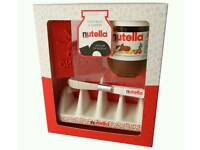 Nutella chocolate ceramic Toast Rack 200g Jar gift box set boxed new gift present