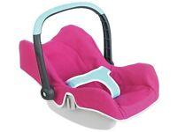 Maxi cosi dolls car seat pink & blue