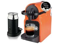 Nespresso INISSIA SUMMER SUN & AEROCCINO MILK FROTHER BUNDLE