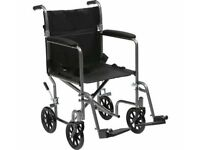 Drive Medical Lightweight Wheelchair & Cushion