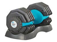 Men's Health Adjustable Dial Dumbbells 25kg (pair)