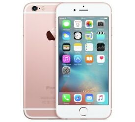 iPhone 6s rose gold brand new