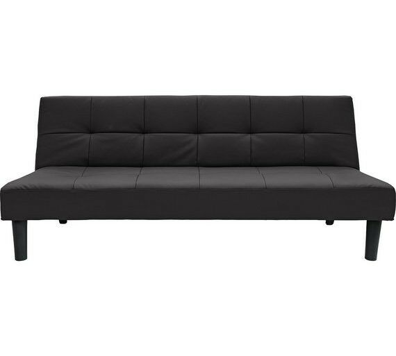 home patsy 2 seater clic clac sofa bed black by home by argos in barnes london gumtree. Black Bedroom Furniture Sets. Home Design Ideas