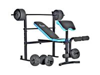MENS HEALTH WEIGHTS BENCH, MINT CONDITION, BENCH ONLY, NO WEIGHTS!!