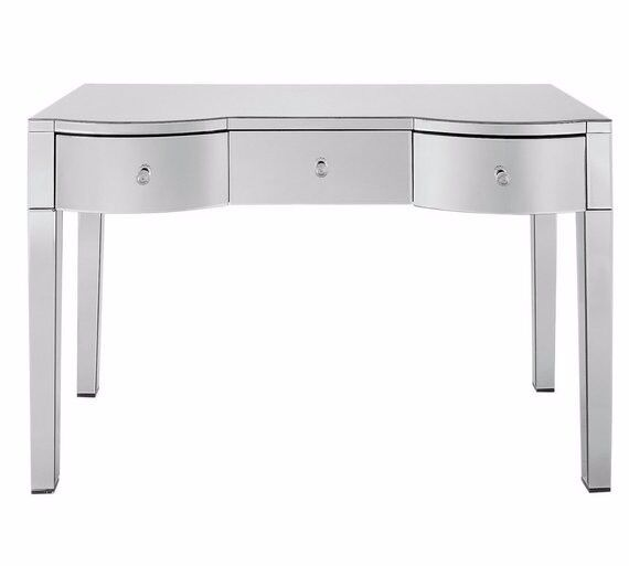 Ex Display Canzano 3 Drawer Dressing Table - Mirror