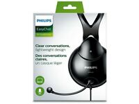 Philips SHM1900 Full-Size Headset BRAND NEW / never been used £15