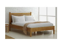 HOME Adalia Kingsize Bed Frame - Oak Stain