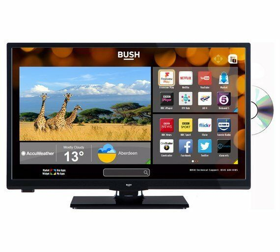 Bush 24 Inch HD Ready Smart TV With DVD Player - Black | in Sheffield,  South Yorkshire | Gumtree