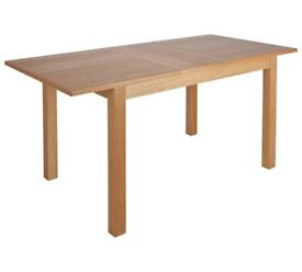 Ex display Clifton Extendable Oak Veneer 4-6 Seater Table