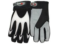 Coyote X-Large BMX Gloves - Black and White