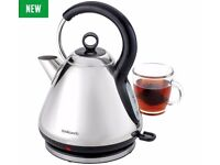 Cookworks Pyramid Kettle - Stainless Steel