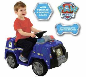Paw patrol police cruiser ride on