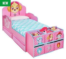 PAW Patrol Skye Cube Toddler Bed Frame