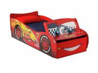 Ex display Disney Cars Light Up Toddler Bed