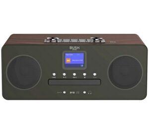 Bush DAB All-in-One Micro Hi-Fi System - Bluetooth DAB820