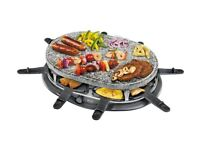 Swan stone raclette grill