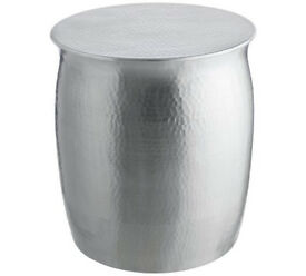 Habitat Orrico Side Table - Silver