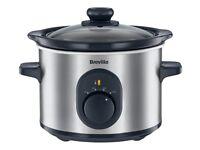 Slow cooker Breville 1.5litre never used