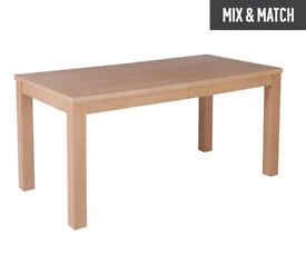 HOME Hemsley Extendable 6 - 8 Seater Dining Table
