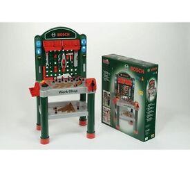 Klein Bosch mini workbench, tool box & toolkit.