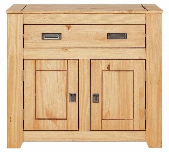 Ex-Display Penton 2 Door 1 Drawer Solid Pine Sideboard