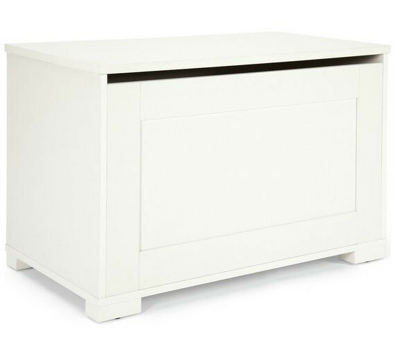 Ex display Mamas & Papas Harrow Furniture Storage Box - White
