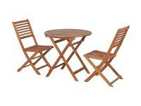 HOME Newbury 2 Seater Wooden Bistro Set