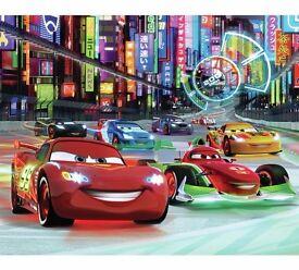 Disney Cars wall mural