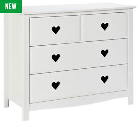 Collection New Mia 2+2 Drawer Chest