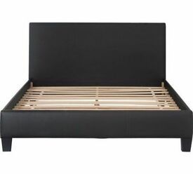 HOME Constance Kingsize Bed Frame - Black