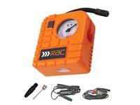 BRAND NEW & BOXED RAC 12V Tyre Inflator + 12V Wet & Dry Vacuum - £30 ono Glenrothes